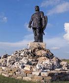 Monument tzar Kaloyan — Stock Photo
