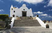 Church of Soccorso, Forio, Ischia, Italy — Stock Photo