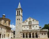 Cathedral of Spoleto, Umbria, Italy — Stock Photo
