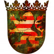 Hessen coat of arm - Stock Photo