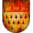 Koeln coat of arms - Stock Photo