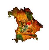 Bavyera harita — Stok fotoğraf