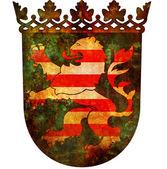 Hessen coat of arm — Stock Photo