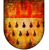 Koeln coat of arms — Stockfoto