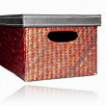 Shoe Box with reflection — Stock Photo