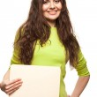 Closeup portrait of young woman — Stock Photo