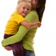 Young mother with girl — Stock Photo