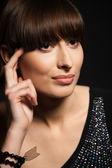 Make-up portrét — Stock fotografie