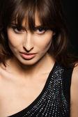 Woman closeup portrait — Stock Photo