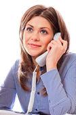 Woman consultant — Stock Photo