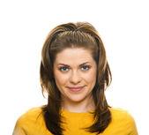 Ritratto di donna closeup — Foto Stock