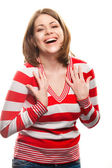 Happy woman — Stock Photo