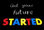 Krijgen van uw toekomst begonnen — Stockfoto