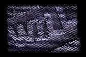 鋼の wiil — ストック写真