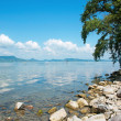 Landscape of Lake Balaton, Hungary — Stock Photo