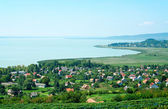 Landscape of Lake Balaton,Hungary — Stock Photo