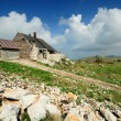 Mountain House and landscape — Stock Photo