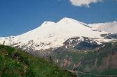 Picos elbrus. — Foto de Stock
