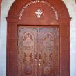 Church doors — Stock Photo