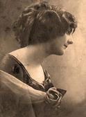 Vintage portrait — Stock Photo