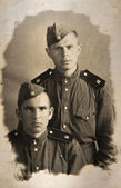 Soldiers of The Second World War, USSR, — Stock Photo
