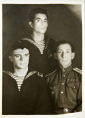 Sailors of The Second World War — Stock Photo