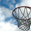 Outdoor basketball hoop — Stock Photo #5479319