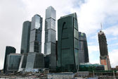 Skyscrapers of Moscow City Russia — Stock Photo