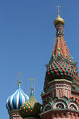 Saint Basil cathedral at Red Square Moscow Russia — Stock Photo