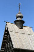 Wooden church in Yuriev-Polsky Russia — Stock Photo