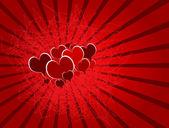 Romantic invitation — Stock Vector