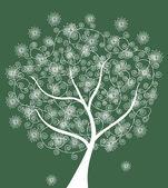 Streszczenie drzewo — Wektor stockowy