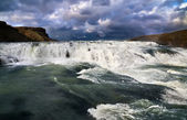 Cascade of Gullfoss — Stock Photo