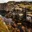 Deep fissure at Thingvellir National Park — Stock Photo #6534021