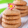 Homemade ginger cookies — Stock Photo