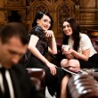 Gossip Girls - Stock Photo