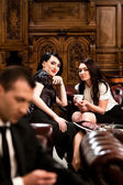 Gossip Girls — Stock Photo