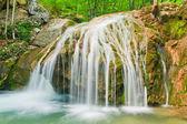 Multijet waterfall — Stock Photo