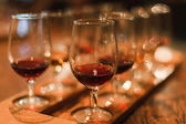 Wine sampling — Stock Photo