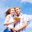 Happy young couple — Stock Photo #5773903