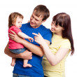 Happy family — Stock Photo #5825640