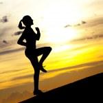 Running woman — Stock Photo #5863354