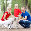 Young family — Stock Photo #6106038