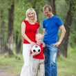 Young family — Stock Photo #6106042