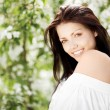 Stock Photo: Brunette woman