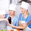 Family cooking — Stock Photo #6587160