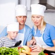 Family cooking — Stock Photo #6587195