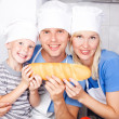 Family eating — Stock Photo #6587606