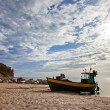 Stock Photo: Fishing boat in Orlowo