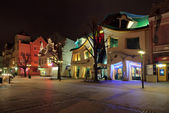 Crooked house in sopot — Stockfoto